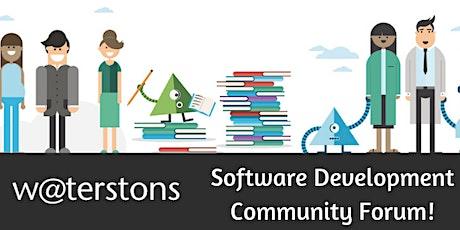 The Software Development Community Forum! tickets