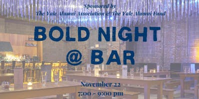 BOLD Night @ Bar - 2019
