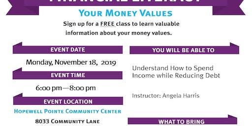 Brightpoint Financial Literacy Workshop - Your Money Values