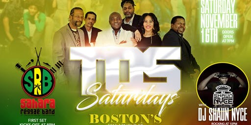 TOS Saturday's featuring Sahara Reggae Band