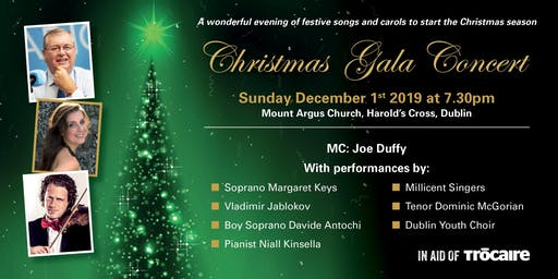 Christmas Gala Concert in Aid of Trócaire