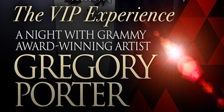 The VIP Experience - Gregory Porter @ The McCarter Theater tickets