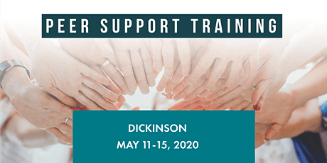 Peer Support Specialist Training - DICKINSON,  May 11-15, 2020 tickets