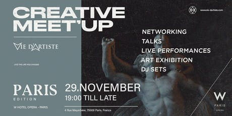 CREATIVE MEET'UP (Paris Edition) billets