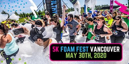 The 5K Foam Fest  - Vancouver, BC 2020
