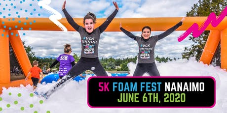 The 5K Foam Fest - Nanaimo, BC tickets