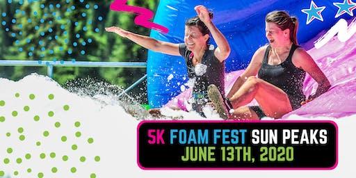The 5K Foam Fest - Sun Peaks, BC