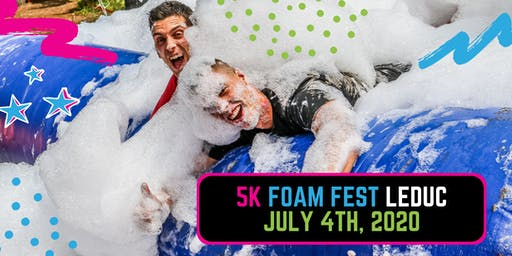 The 5K Foam Fest - Edmonton/Leduc, AB