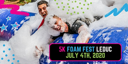 The 5K Foam Fest - Edmonton/Leduc, AB 2020