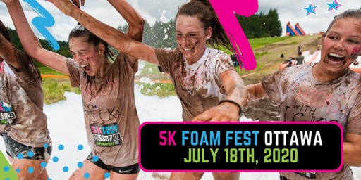 The 5K Foam Fest - Ottawa, ON