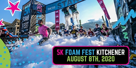 The 5K Foam Fest - Kitchener / Waterloo 2020 tickets