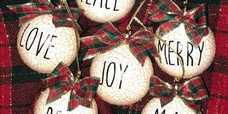 Christmas Ornament (Make and Take)
