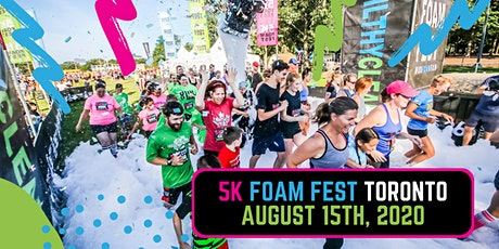 The 5K Foam Fest - Toronto, ON tickets