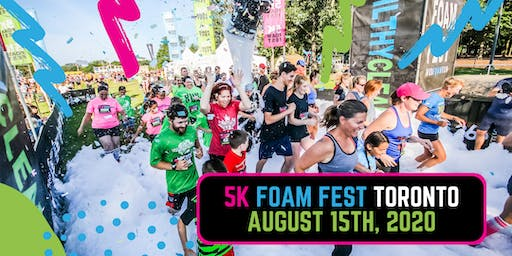 The 5K Foam Fest - Toronto, ON