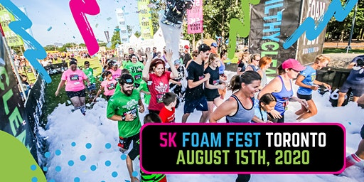 The 5K Foam Fest - Toronto, ON 2020