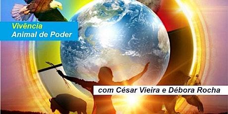 Vivência Animal de Poder – César Vieira e Débora Rocha ingressos