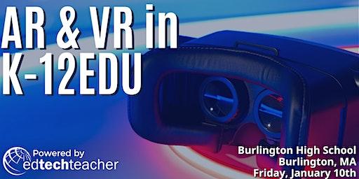 AR/VR (Burlington, MA)- January 10,2020