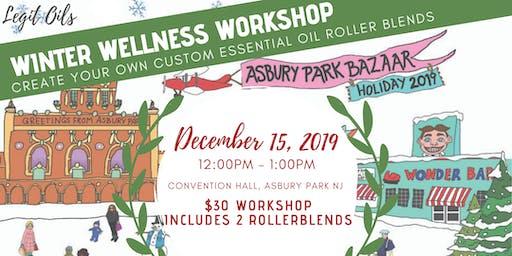 Winter Wellness Workshop: Essential Oil Roller Blends