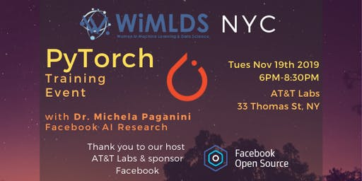 NYC WiMLDS: Intro to PyTorch Workshop