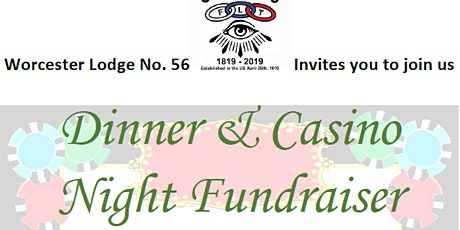 Dinner & Casino Night Fundraiser tickets