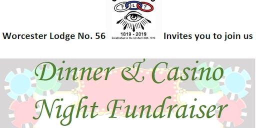 Dinner & Casino Night Fundraiser