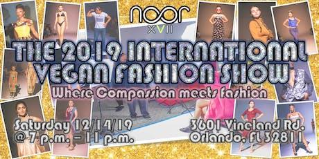 The 2019 International Vegan Fashion Show tickets