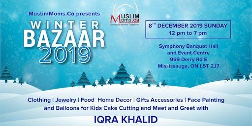 Winter Bazaar 2019 by MuslimMoms.Ca