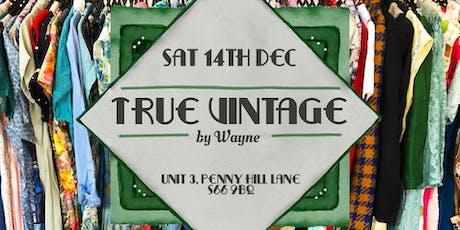 True Vintage by Wayne tickets