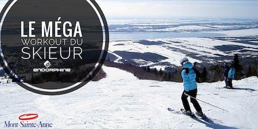 Le MÉGA WORKOUT du skieur au Mont Sainte-Anne