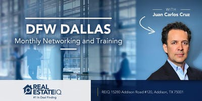 DFW - Dallas Monthly Real Estate Networking and Deal Finding Training