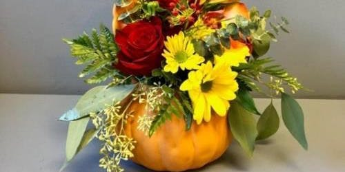 Thanksgiving Floral Arrangement Night