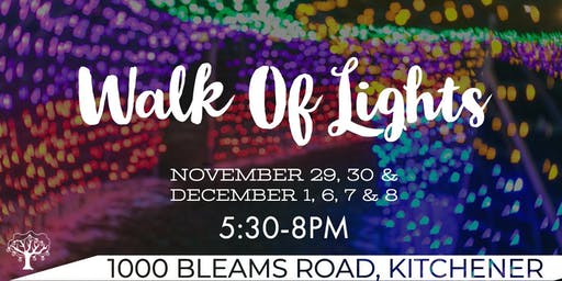 Walk Of Lights - Free Family Event
