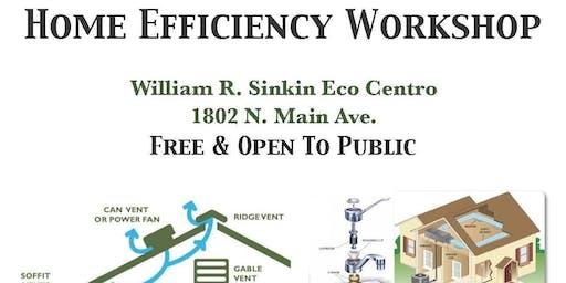Home Efficiency Workshop