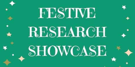 A Festive Research Showcase tickets