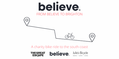 From Believe to Brighton 2020 - Register your interest tickets