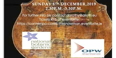 ConTempo Quartet, Corelli & the Snowman tickets