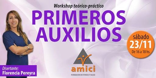 Workshop de Primeros Auxilios