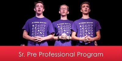 Sr. Pre Professional Program 2020