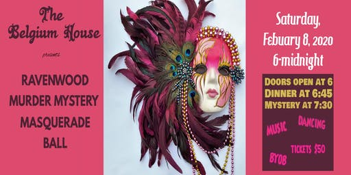 Ravenwood Masquerade Ball Murder Mystery
