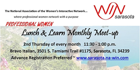 Professional Women Lunch & Learn - Monthly Meetup tickets