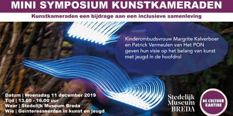 Mini symposium Kunstkameraden tickets