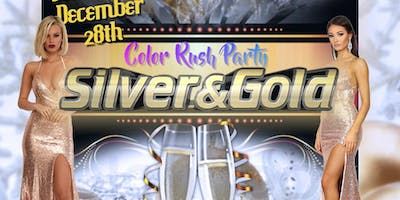 Color Rush Party (Silver & Gold)