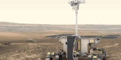 The Rosalind Franklin Rover's mission: looking for life on Mars