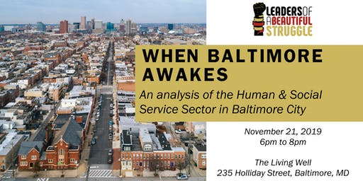 Malcolm  X Talk: When Baltimore Awakes