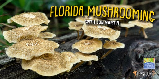 Florida Mushrooming with Jon Martin (Mead Gardens)