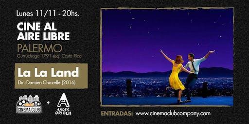 Cine al Aire Libre: LA LA LAND (2016) -  Lunes 11/11
