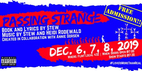 Passing Strange 12/6/19 tickets