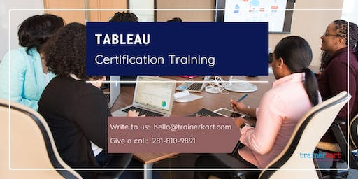 Tableau Classroom Training in Thompson, MB