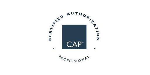 Fairfax, VA| Certified Authorization Professional (CAP) Training, Includes Exam