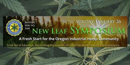 Hemp University - The New Leaf Symposium